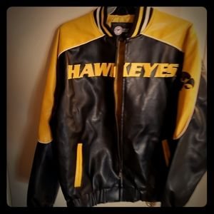 Hawkeye leather jacket